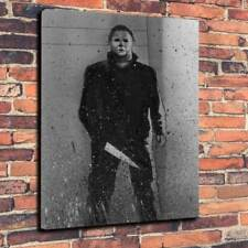 "Michael Myers Halloween Movie Printed Box Canvas Picture A1.30""x20"" 30mm Deep"