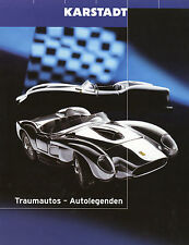 Karstad prospetto modellini di auto 1:18 2000 (D) BMW v12 LMR z8 AUDI TT r8r MARANELLO