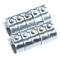 10x pinces à vis sans fin pour tuyau d'entraînement en acier inoxydable