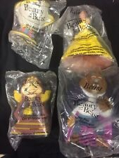Pizza Hut Beauty And The Beast Hand Puppet Set Of 4 Sealed
