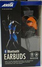 AVIA Ear Hook Sports Bluetooth Earphones with Microphone, Orange