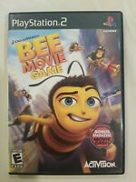 Bee Movie Game (Sony PlayStation 2, 2007) PS2 NO MANUAL Tested FREE S/H