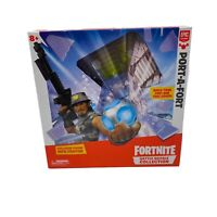 OFFICIAL Fortnite Battle RoyalePort-A-Fort Play Set GIFT With Action Figure TOY