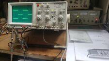 HAMEG HM303-6 OSCILLOSCOPE  2 * 35 MHZ ETAT NEUF AVEC SONDES 100 MHz