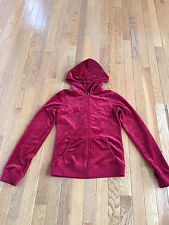 Women's BCBG Red Size Small Jaket with Hood