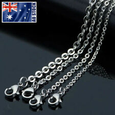 Wholesale 316L Stainless Steel Classic Rolo Link Chain Necklace For Pendants