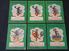 Konvolut 6x Lurchis Abenteuer Bereich Teil 7-19 Salamander 1955-60 (Z 2)