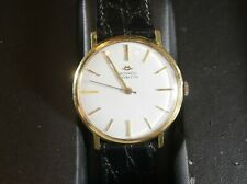 Excellent condition 18k Gold Tiffany & Co. Movado Wrist Watch in box of issue