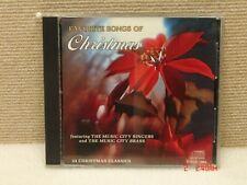 *CD  Favorite Songs of Christmas - Music City Singers & Music City Brass      B2