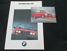 1990 BMW 318is 318i E30 Catalog '90 3 Series 5-speed 4-cylindr US Sales Brochure