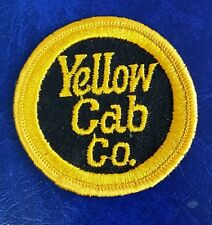 VINTAGE YELLOW CAB COMPANY CO PATCH