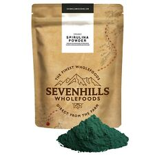 Sevenhills Wholefoods Organic Spirulina Powder | Weight Loss Cleanse