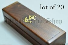 NAUTICAL BRASS ANCHOR COLLECTIBLE WOODEN BOX GIFT FOR KEY CHAIN Maritime STYLE