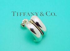 SINGLE Tiffany & Co. Stud Earring in Sterling Silver & 14k Gold