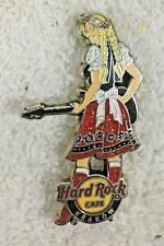 Hard Rock Cafe Krakow Folk Girl with Guitar