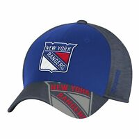 New York Rangers Structured Flex Fit Cap Adult Hat Center Ice Collection