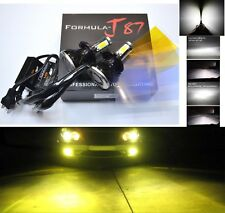 LED Kit G5 80W 9003 HB2 H4 3000K Yellow Head Light Two Bulbs Dual Beam Upgrade