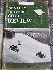 BENTLEY DRIVERS CLUB REVIEW MAY 1973 #108 BM 8287 GODDARD BENTLEY MOTORS SCRAPB