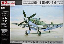 AZ Models 1/72 AZ7601  Messerschmitt Bf109K-14 'Kurrfurst/Aces' Model kit