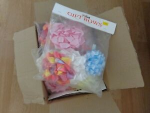 bnwot  12 packs x4 giant  gift bows