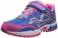 Saucony Girls Non-Tie Sneakers  Blue/Pink/Purple Older Girls  Size 7 M