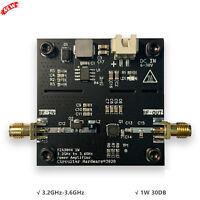 SBB5089+SZA3044 3.2GHz-3.6GHz Microwave Power Amplifier RF Power Amp 1W 30DB
