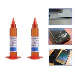 2x Adhesive Glue Cell Phone Repair Tool For Touch Screen Repair Liquid Glue Set