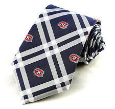 Montreal Canadiens Men's Neck Tie NHL Hockey Necktie Rhodes Eagles Wings Fan New