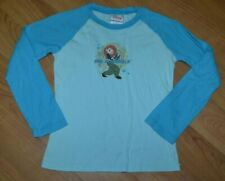 VTG 00s Girls Disney Kim Possible Long Sleeve Raglan Jersey T Shirt Youth Large
