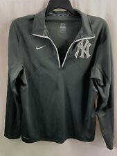Nike Dr Fit New York Yankees 1/4 Zip Gray Pullover Size Medium MLB