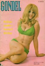 GONDEL - Zeitschrift Magazin - Heft 235 / 1968 - Models Musik Stories - H-8055