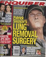 National Enquirer Magazine Patrick Swayze Angelina Jolie Kirstie Alley 2009