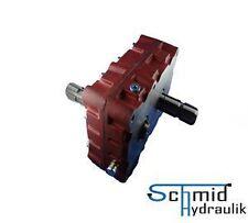 Umkehrgetriebe / Wendegetriebe 1:1,4 mit 2x Stummel