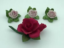 Kaiser Porzellan 4x Blume bis ca. 14 cm. Erste Wahl. Top Zustand