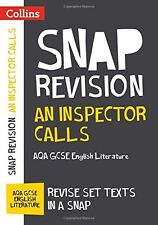 An Inspector Calls: AQA GCSE English Literature Text Guide Collins Snap Revision