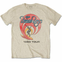 The Beach Boys - '1983 Tour' Vintage Style T-Shirt *Official Merch*