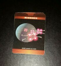 Star Wars Game of Life Missions Cards