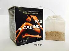 Natural Aphrodisiac Pau de Cabinda 100% Tea-Sexual Stimulant Unisex- 3 Teabags