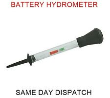 Battery Hydrometer Car Van Motorbike Tester Electrolyte Level Density Lead Acid