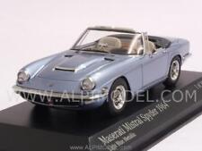 Maserati Mistral Spyder 1964 Light Blue Metallic 1:43 MINICHAMPS 437123432