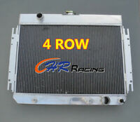 4 row Aluminum Radiator FOR 1963-1968 Chevy Impala / 1964-1967 Chevy El Camino
