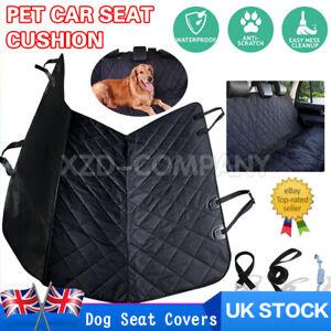 Waterproof Car Rear Back Seat Cover Pet Dog Auto Protector Hammock Mat UK FAST