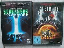 Screamers - Tödliche Schreie & Screamers The Hunter  2 Dvds