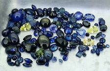 mixed lot of sapphires 41.27ct natural loose gemstones