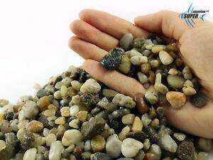AQUARIUM NATURAL STONES GRAVEL TROPICAL GOLDFISH & PLECO PLANT FISH TANK 10-16mm