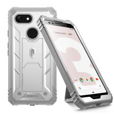 Google Pixel 3 Case | Poetic Full Coverage Defense Shockproof Back Cover White