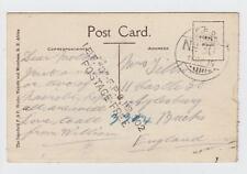 WW1 British East Africa FPO 302 Postage Free Card Nairobi Mzima