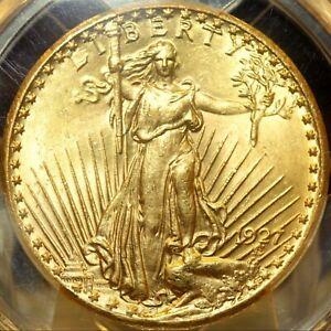 1927 Saint Gaudens Double Eagle Gold $20  PCGS MS 64