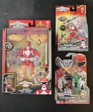 Power Rangers Super Megaforce Mighty Morphin Red Ranger Armored Figure Set Of 3
