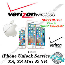 VERIZON USA iPhone XS, XR & XS Max OFFICIAL UNLOCK SERVICE  1 - 5 DYS